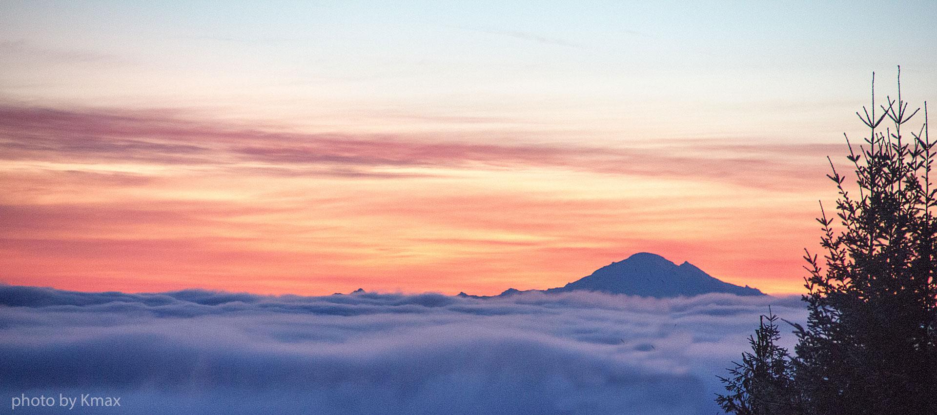 QiGong on Mount Baker