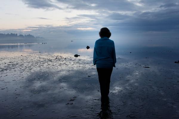 Stephanie Ross on the Beach